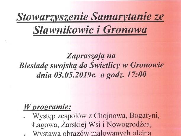 Biesiada swojska w Gronowie