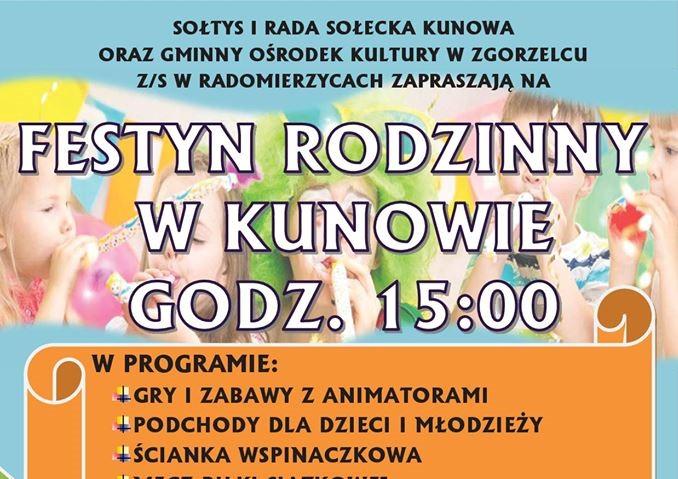 Festyn w Kunowie
