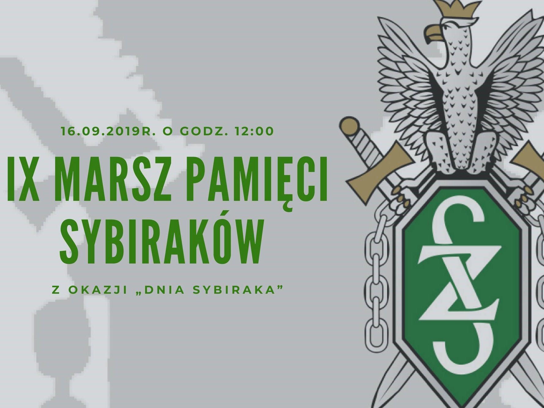 IX Marszu Pamięci Sybiraków