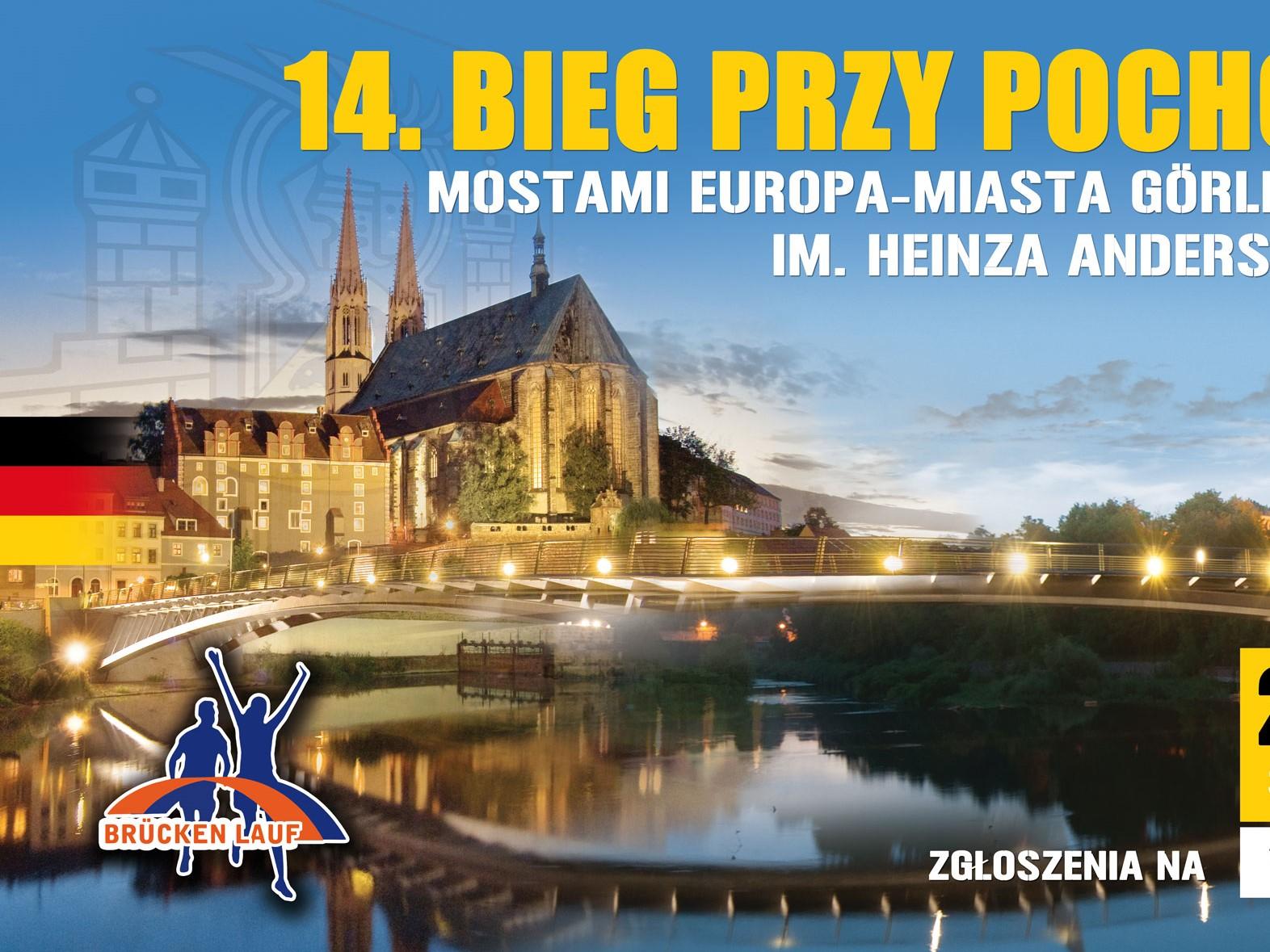 14.Bieg przy Pochodniach MostamiEuropa – Miasta Görlitz – Zgorzelec Heinza Andersa