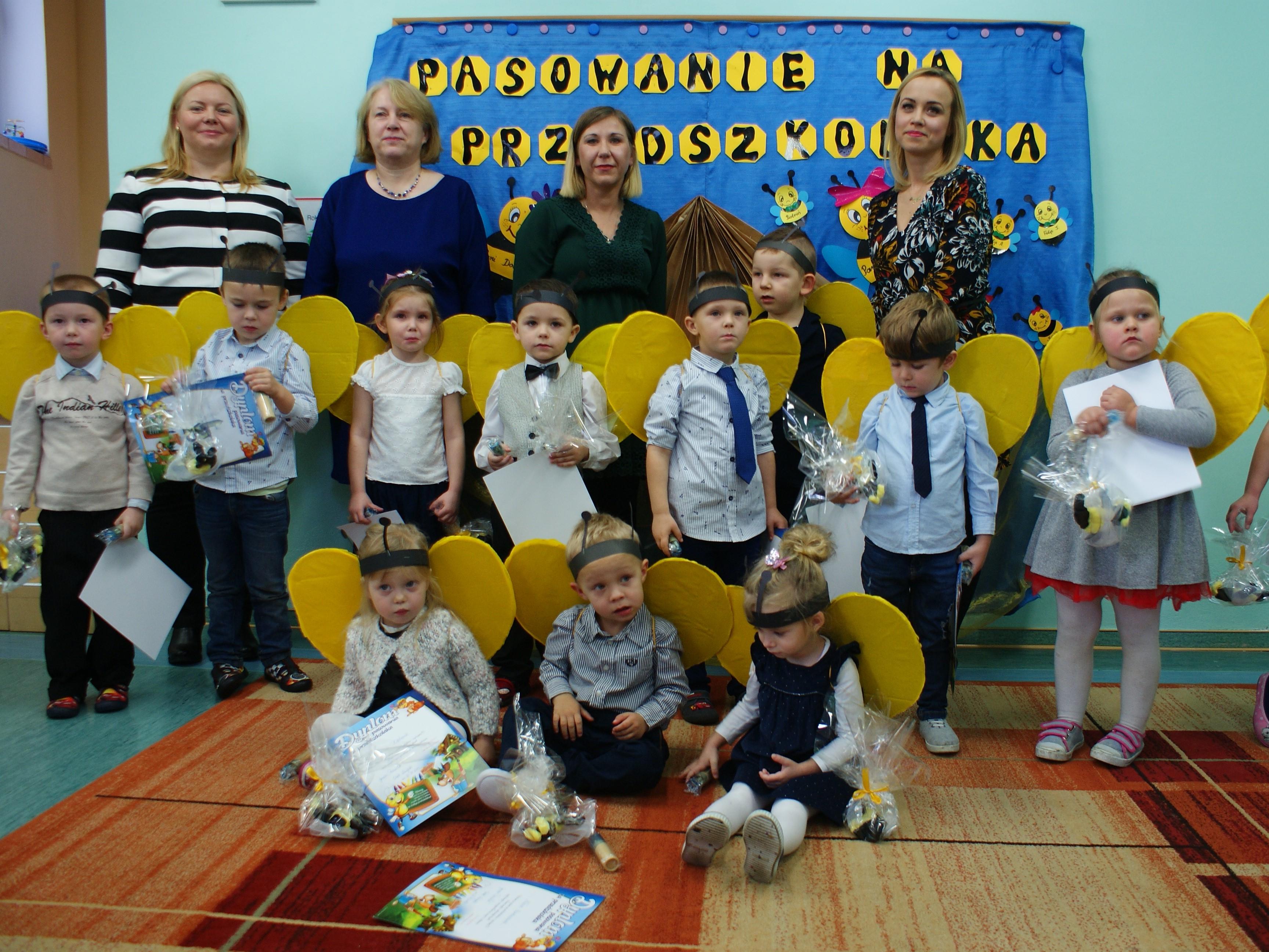Pasowanie na Przedszkolaka w SP w Osieku Łużyckim