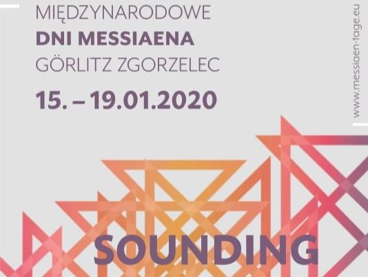 Międzynarodowe Dni Messiaena – 15.-19.01.2020