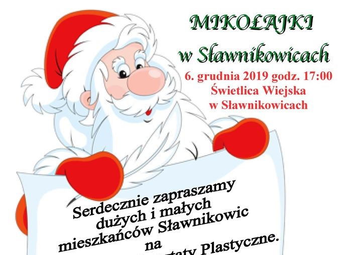 Mikołajki w Sławnikowicach