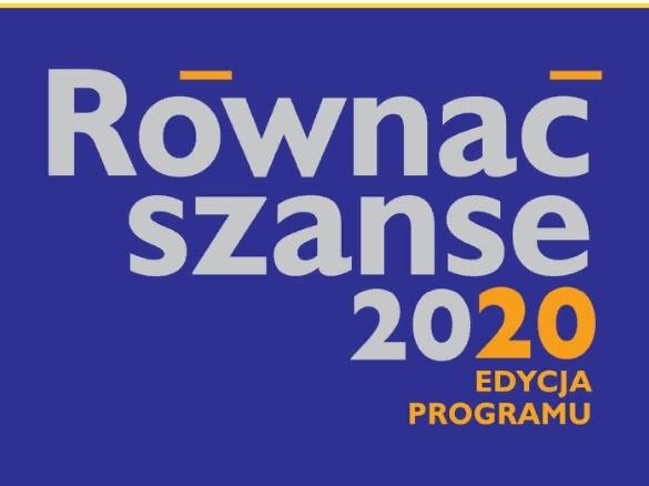 Zdjęcie dla wpisu -RÓWNAĆ SZANSE – edycja 2020