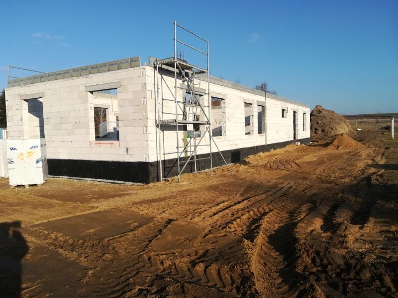 Kolejny etap budowy świetlicy w Tylicach