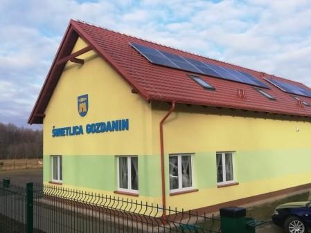 Coraz bliżej otwarcia świetlicy w Gozdaninie