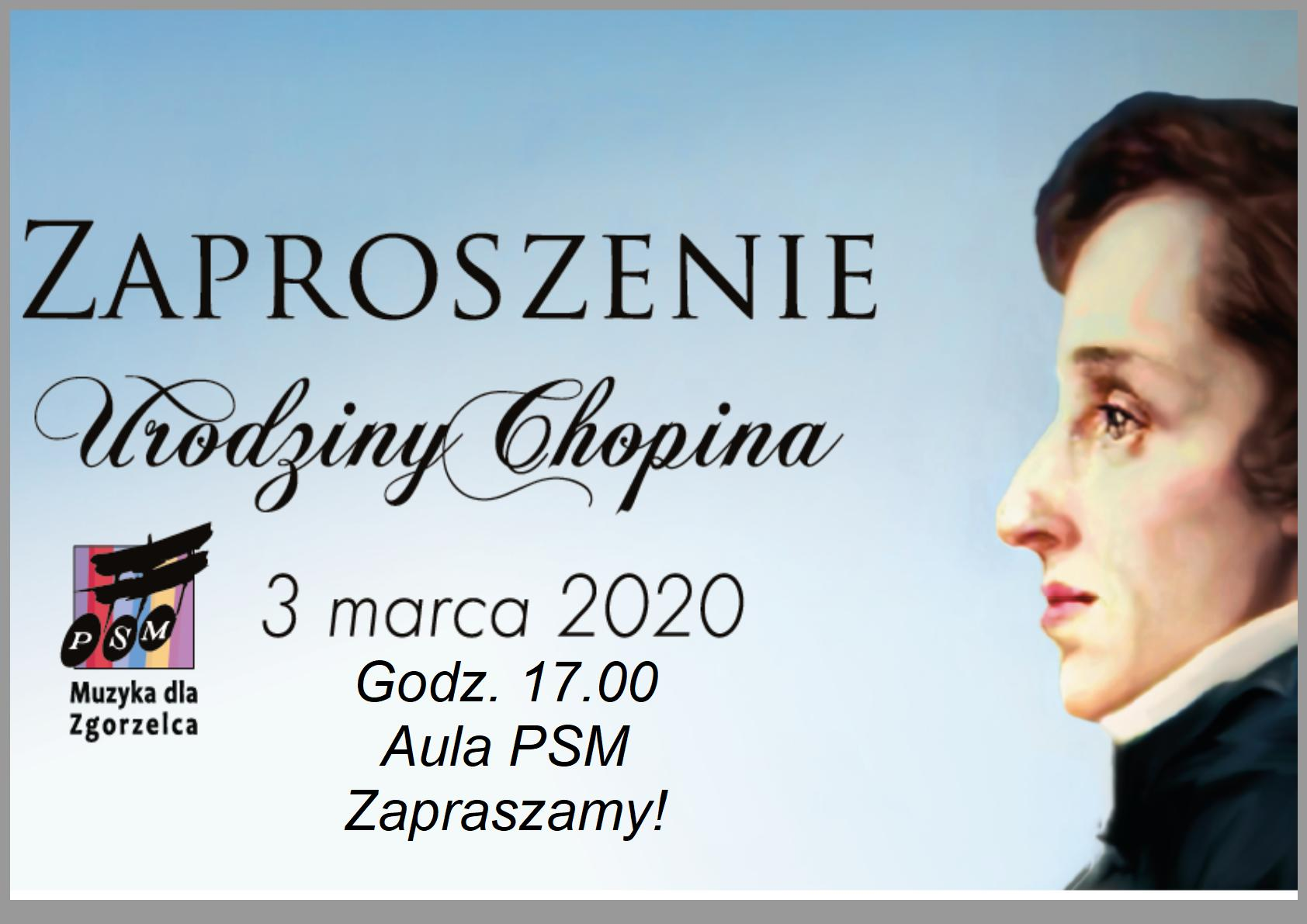 Koncert – Urodziny Chopina