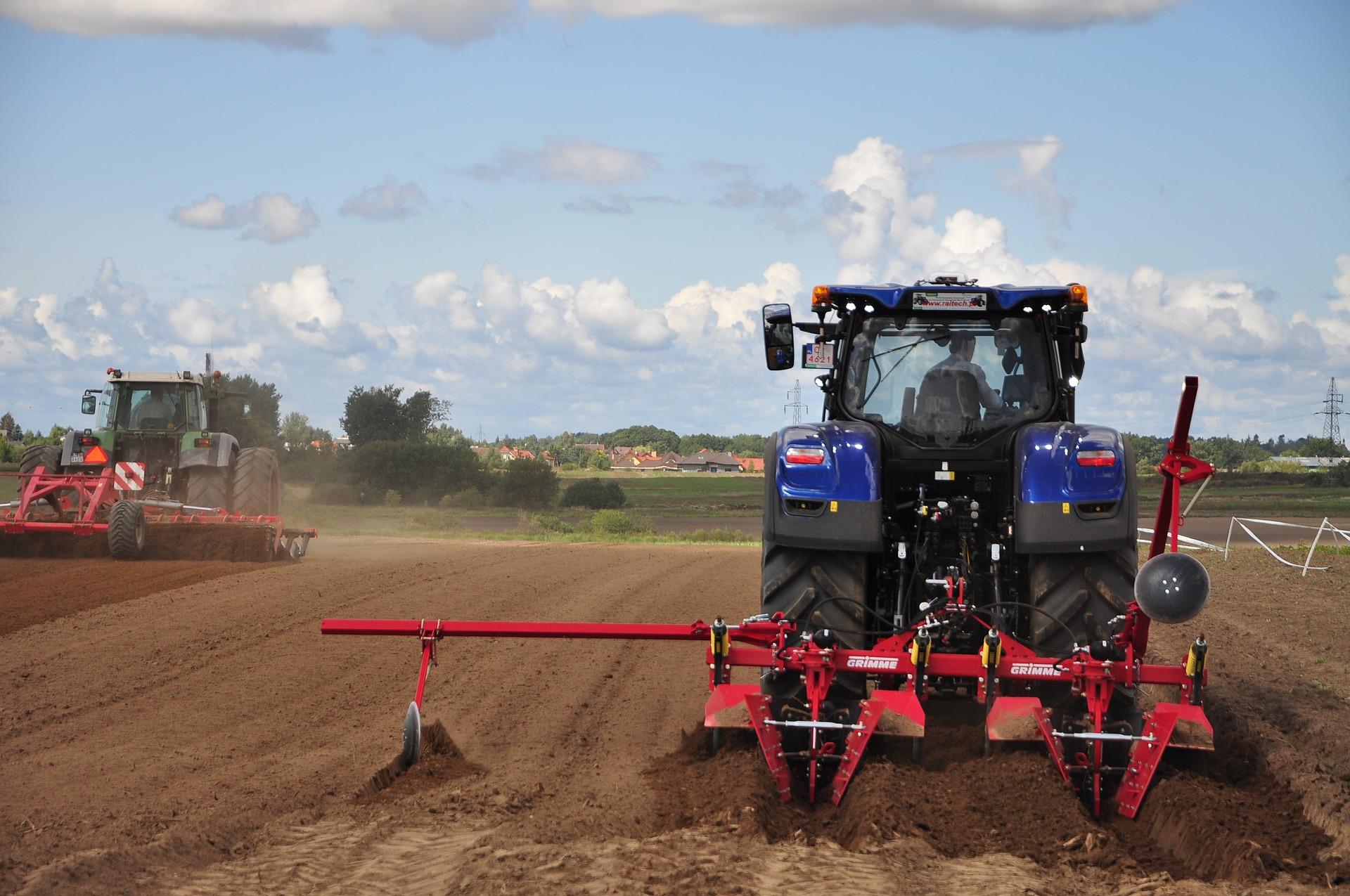 Informacji dotyczących zasad BHP w gospodarstwach rolnych