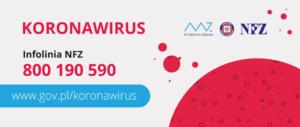 KORONAWIRUS - PORADY Obraz