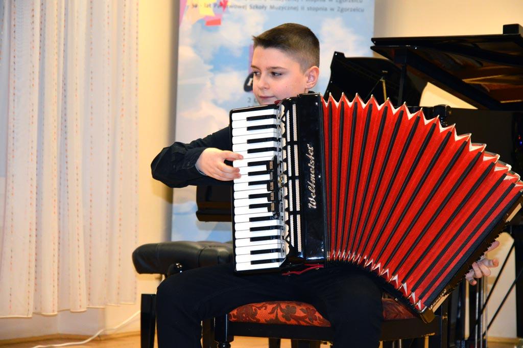 Koncert uczniów lubańskiej Szkoły Muzycznej