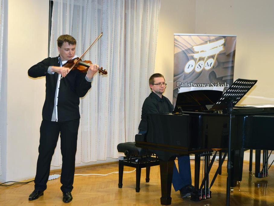 Jacek Ropski- Mistrz skrzypiec w Zgorzelcu