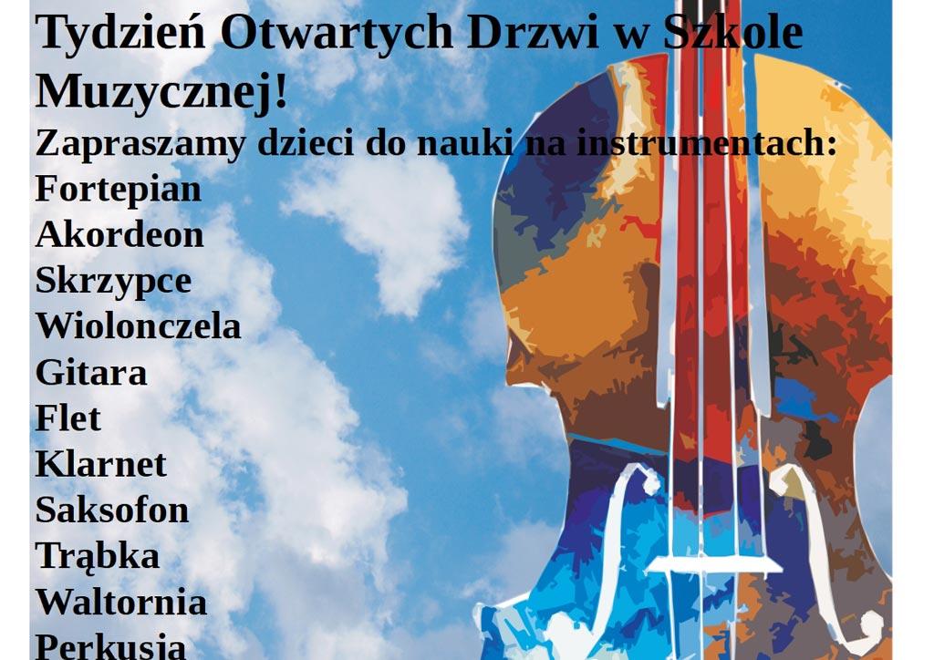 Koncertowy Tydzień Otwartych Drzwi w Szkole Muzycznej