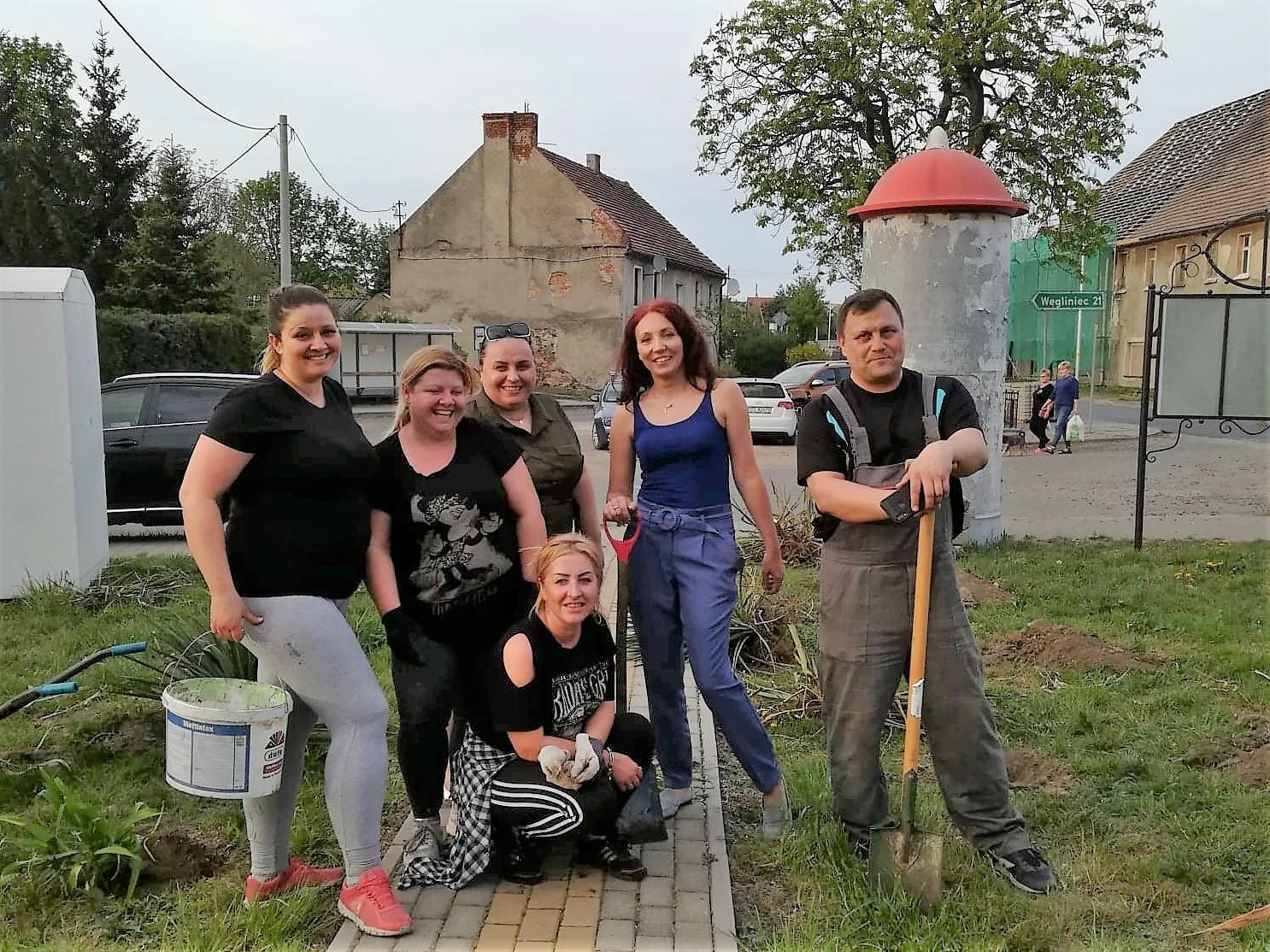 Zagospodarowanie terenów zielonych w Jędrzychowicach