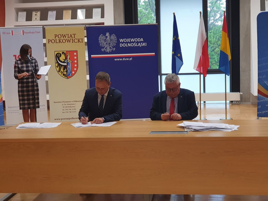 Gmina Zgorzelec otrzymała dofinansowanie na remont ul. Dolnej w Łagowie