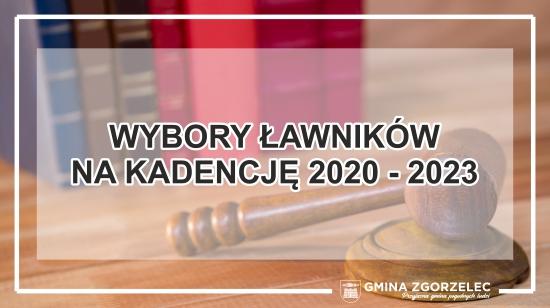 Wybory ławników na kadencję 2020 – 2023