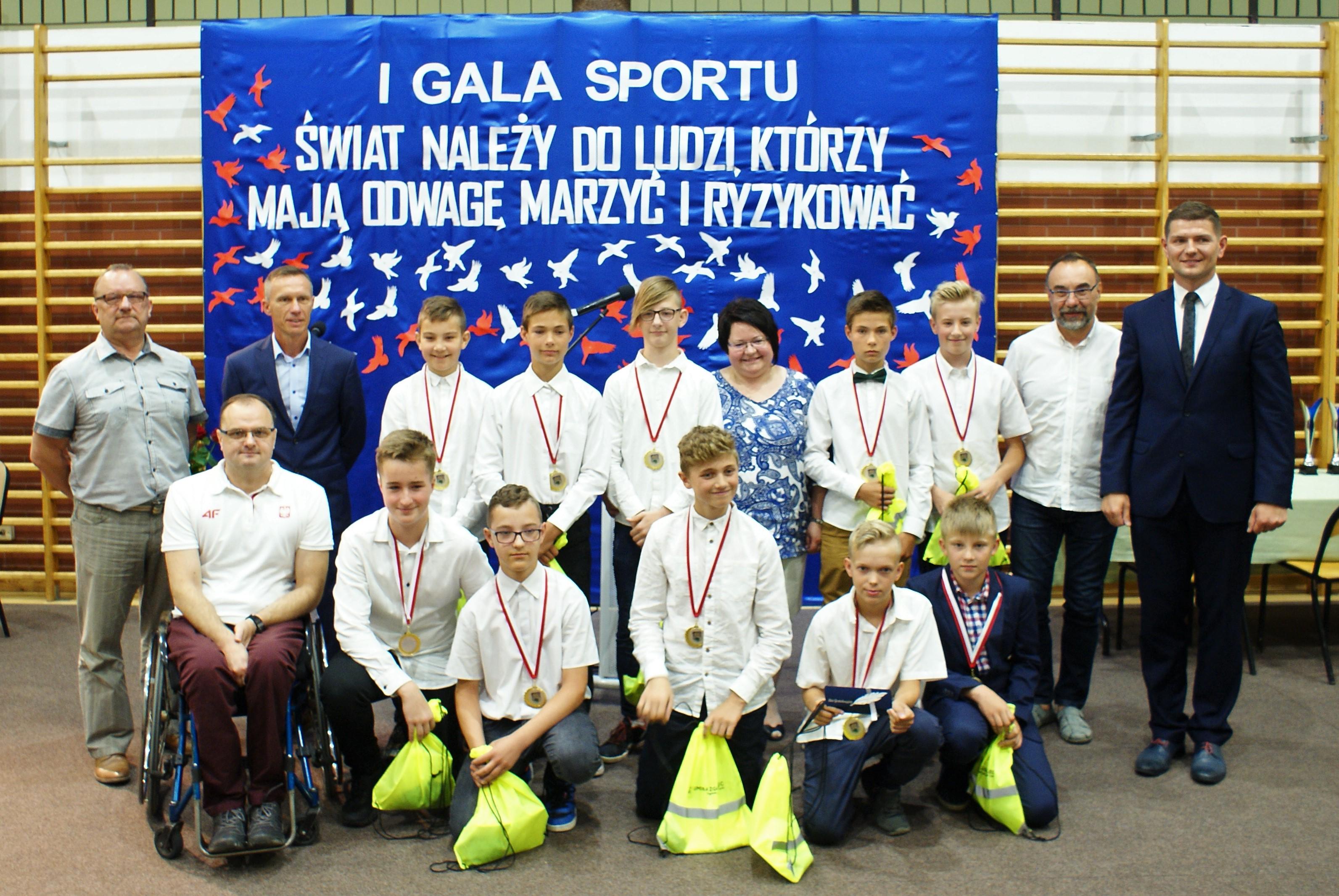 I Gala Sportu we Jerzmankach