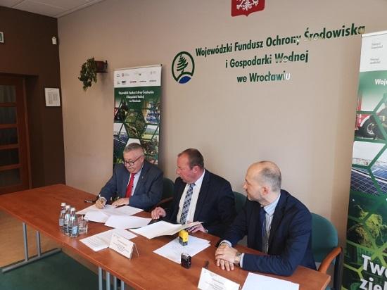 Wójt Gminy Zgorzelec podpisał porozumienie na realizację Programu Czyste Powietrze na obszarze Gminy Zgorzelec.