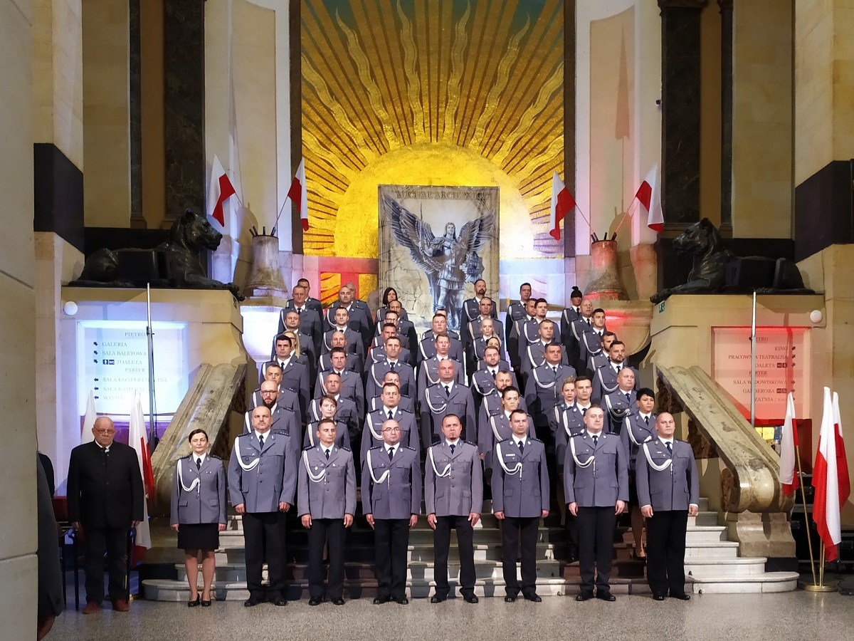 Obchody 100-lecia powstania Policji Państwowej