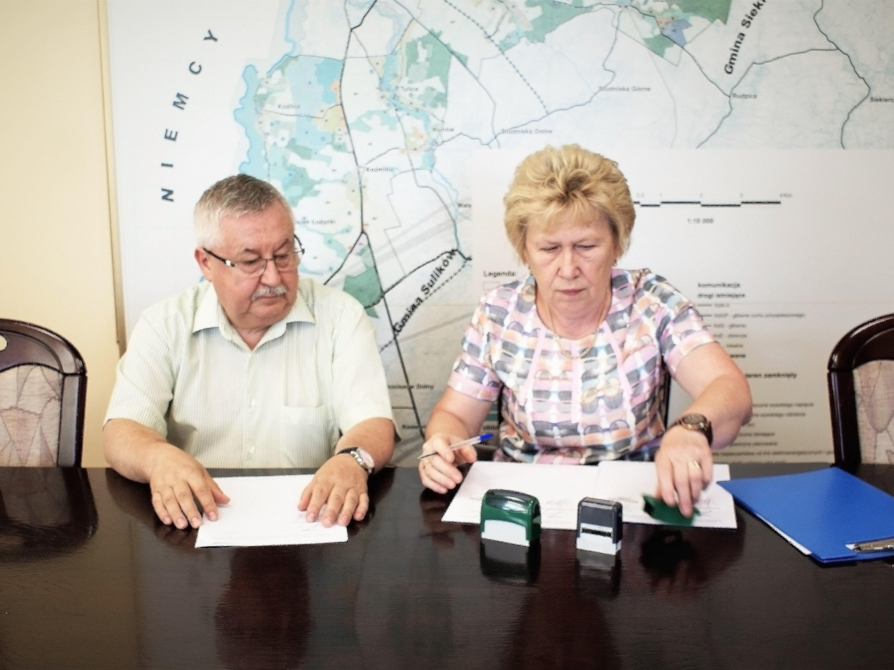 Umowa na remont ul. Dolnej w Łagowie podpisana