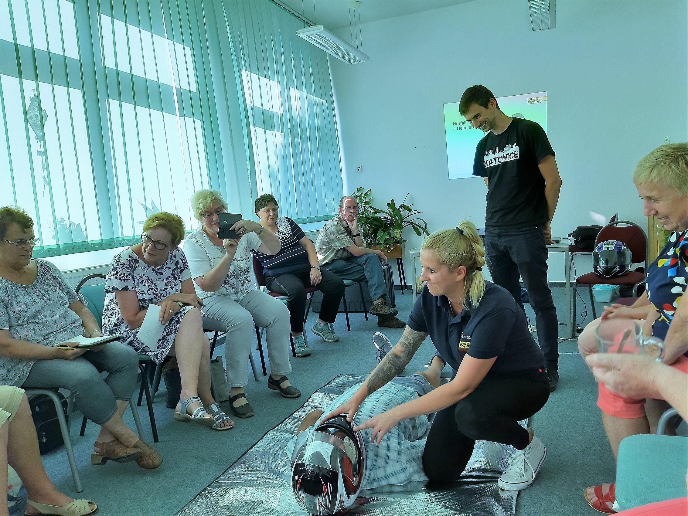 Dwujęzyczny transgraniczny kurs pierwszej pomocy
