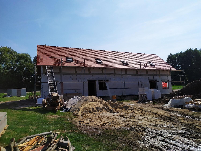Budowa świetlicy wiejskiej w Gozdaninie
