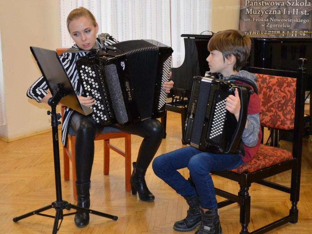 Święto Akordeonu w Szkole Muzycznej