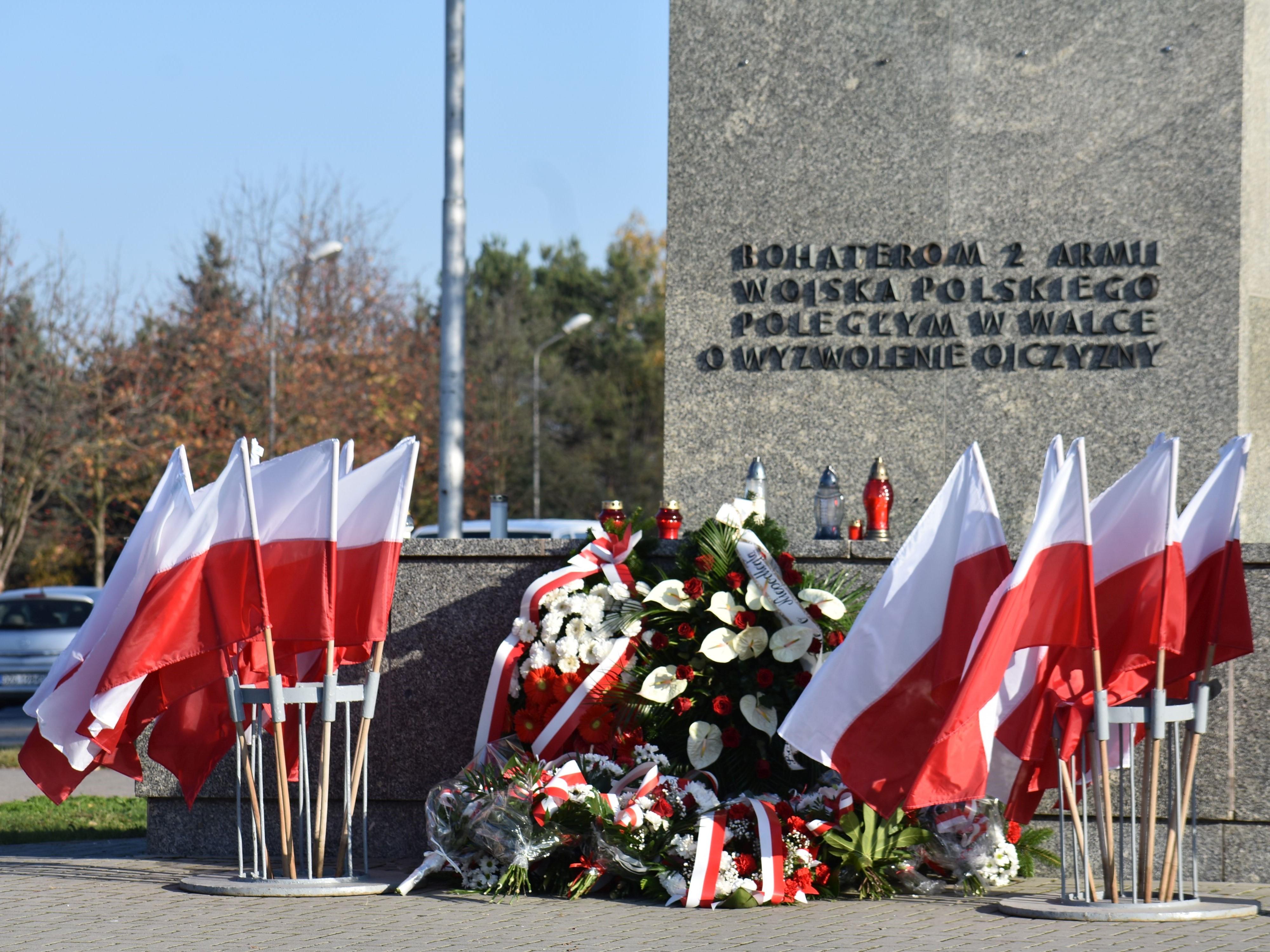 Obchody 101. rocznicy odzyskania przez Polskę Niepodległości