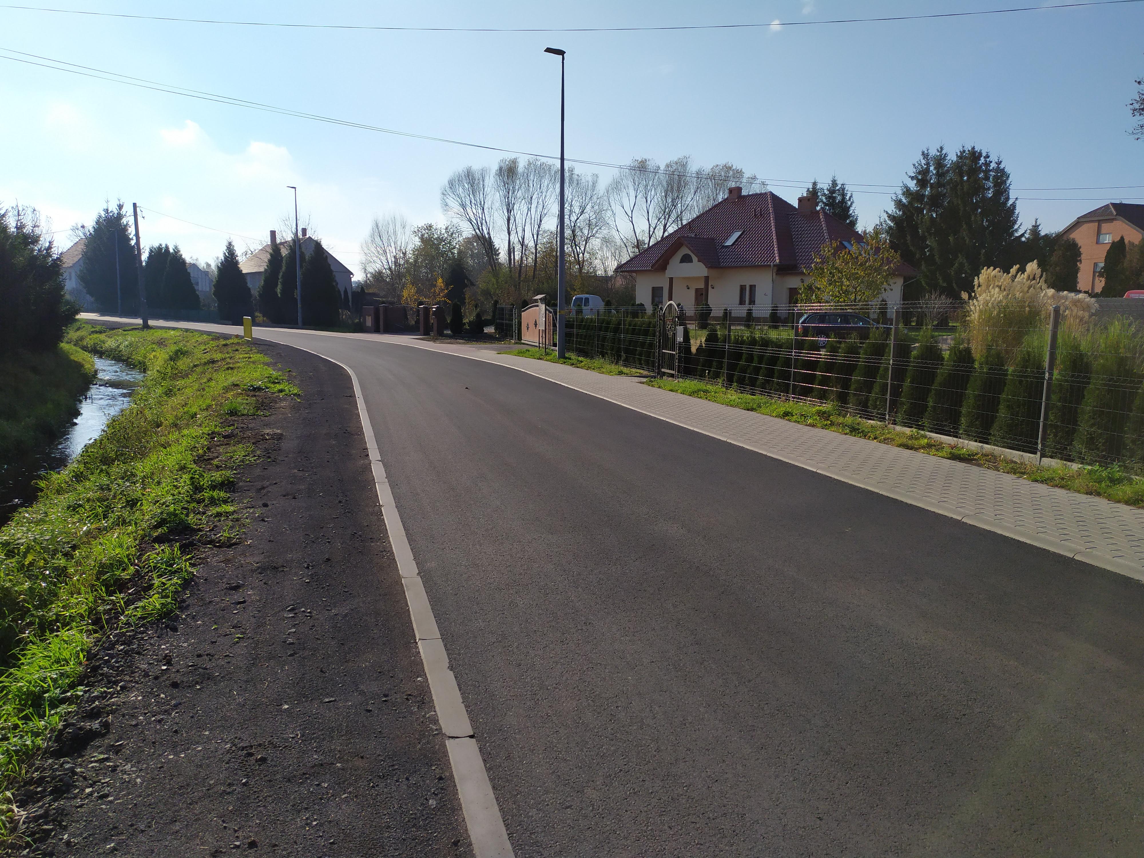 Remont ul. Dolnej w Łagowie zakończony