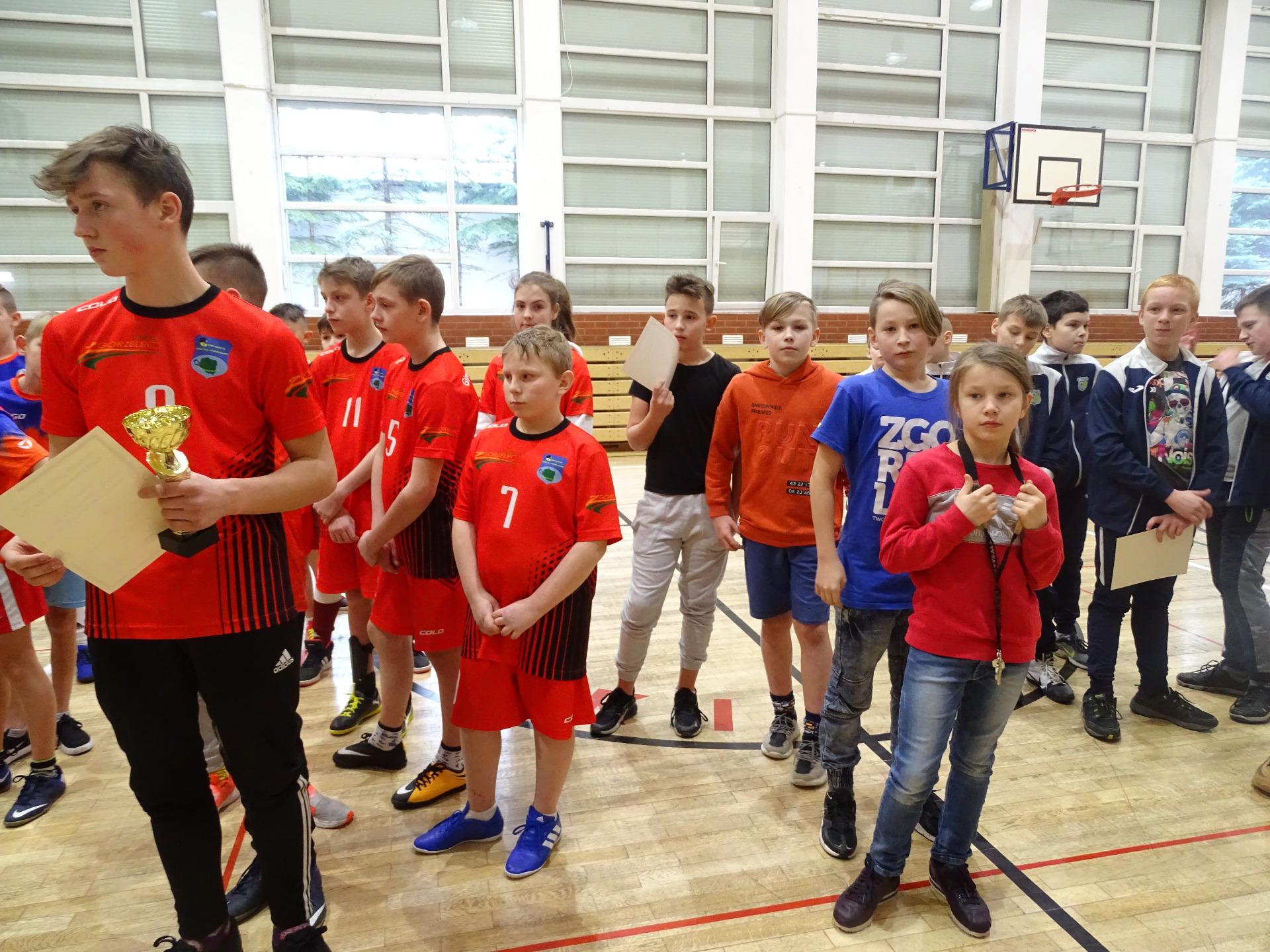 Turniej LZS halowej piłki nożnej w Jerzmankach