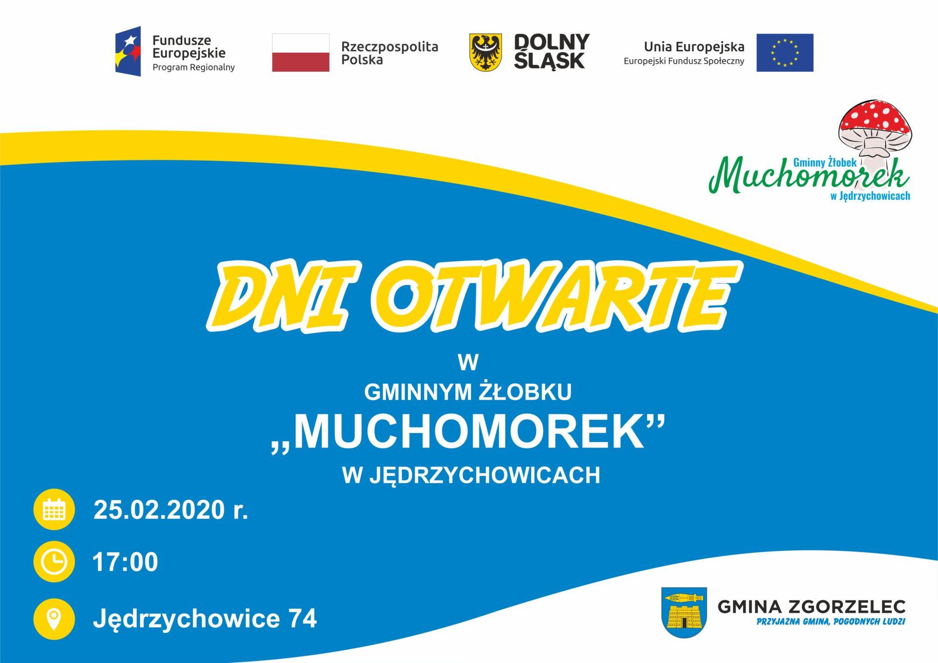 """Dni otwarte w Gminnym Żłobku """"Muchomorek"""" w Jędrzychowicach"""