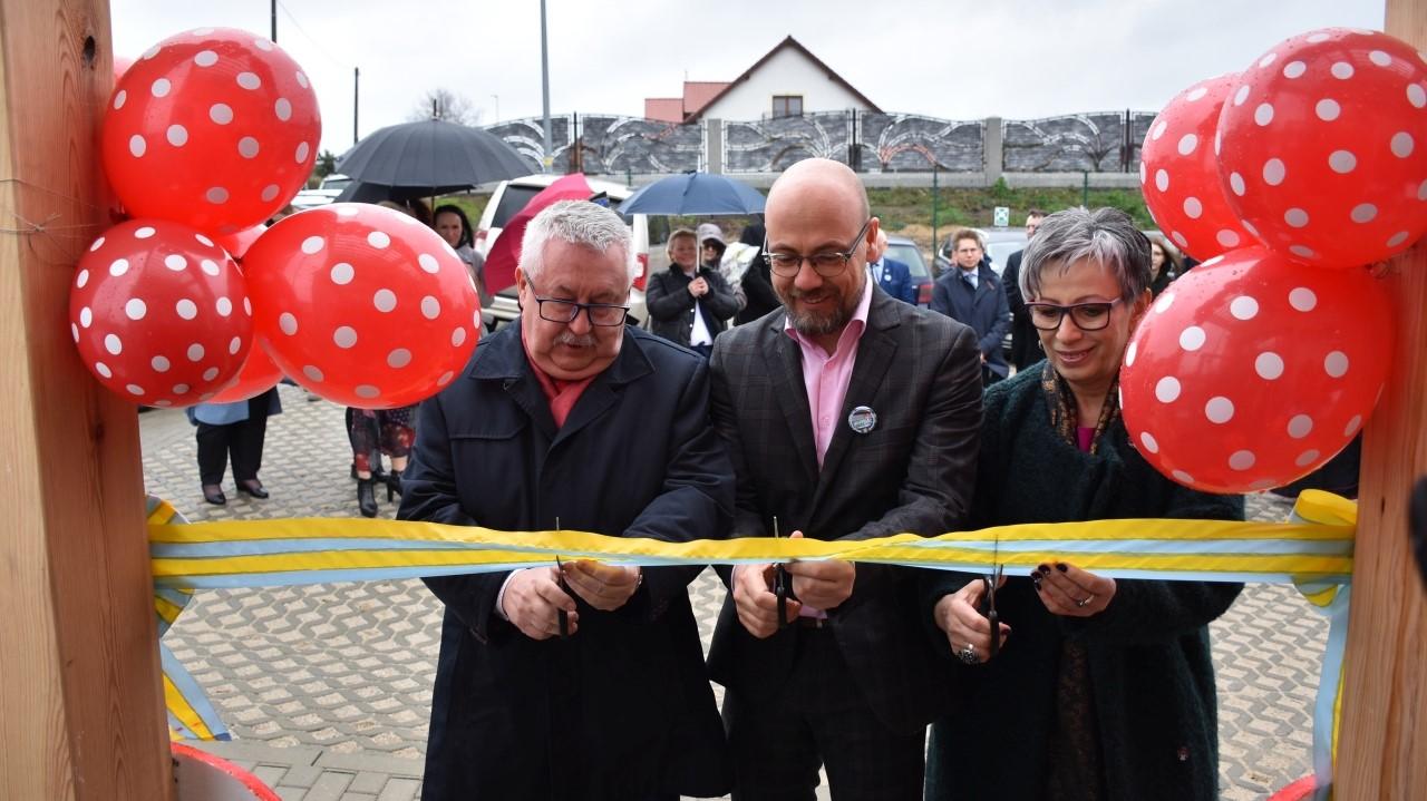 """Zdjęcie dla wpisu - Uroczyste otwarcie Gminnego Żłobka """"Muchomorek"""" w Jędrzychowicach"""