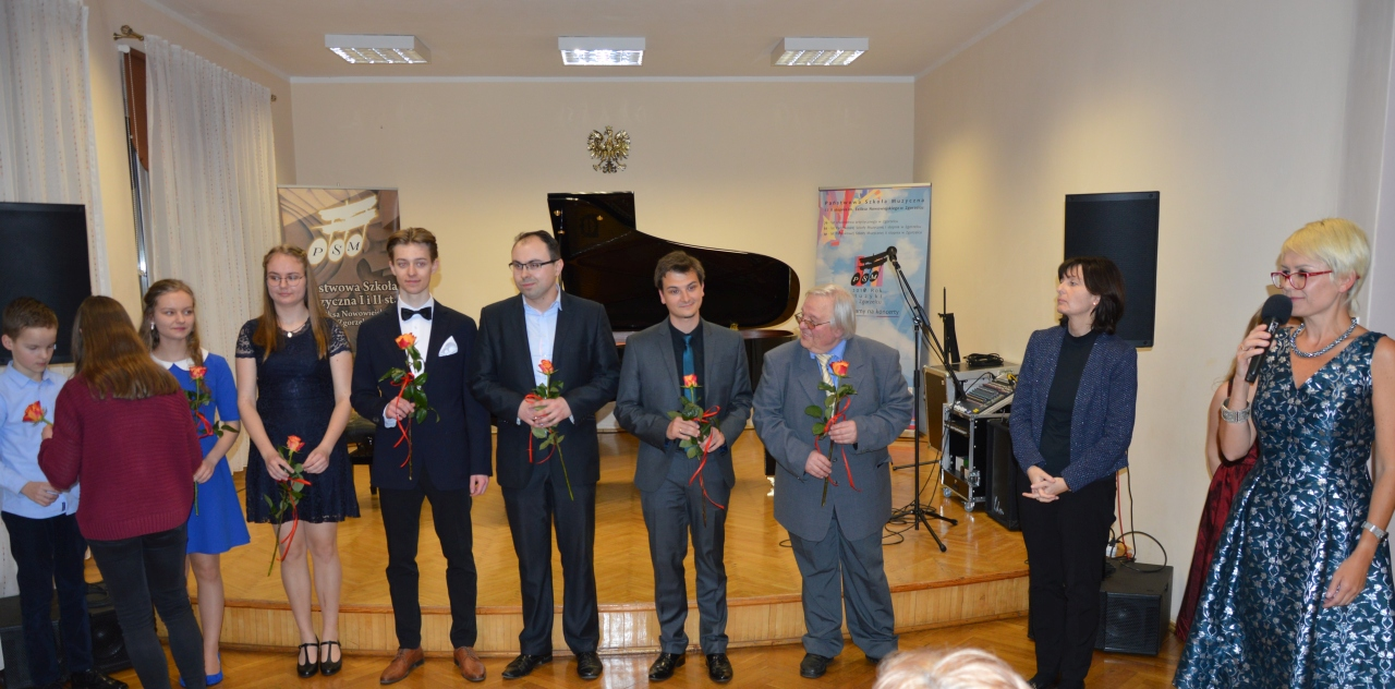 Koncert z okazji urodzin Chopina w szkole muzycznej