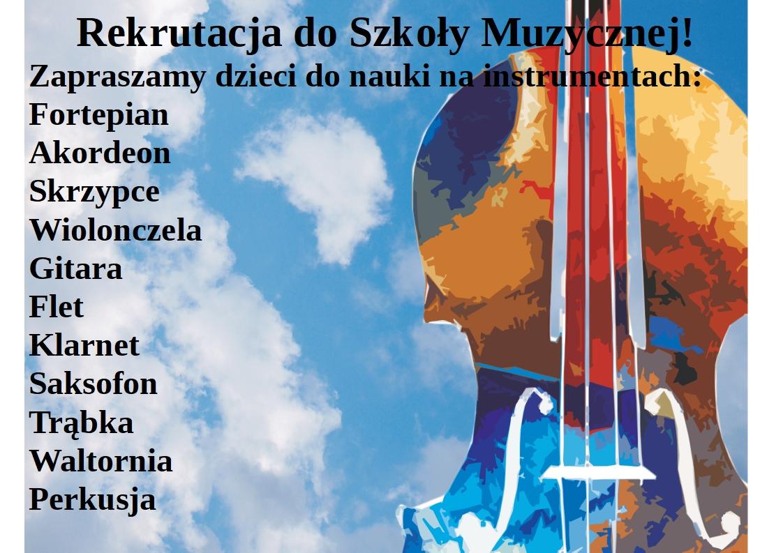 Złóż wniosek do Szkoły Muzycznej przez internet!