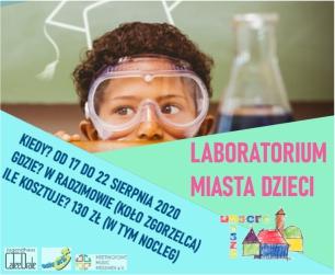 Ostatnie wolne miejsca w Laboratorium Miasta Dzieci