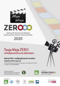 Plakat konkurs Vision Zero