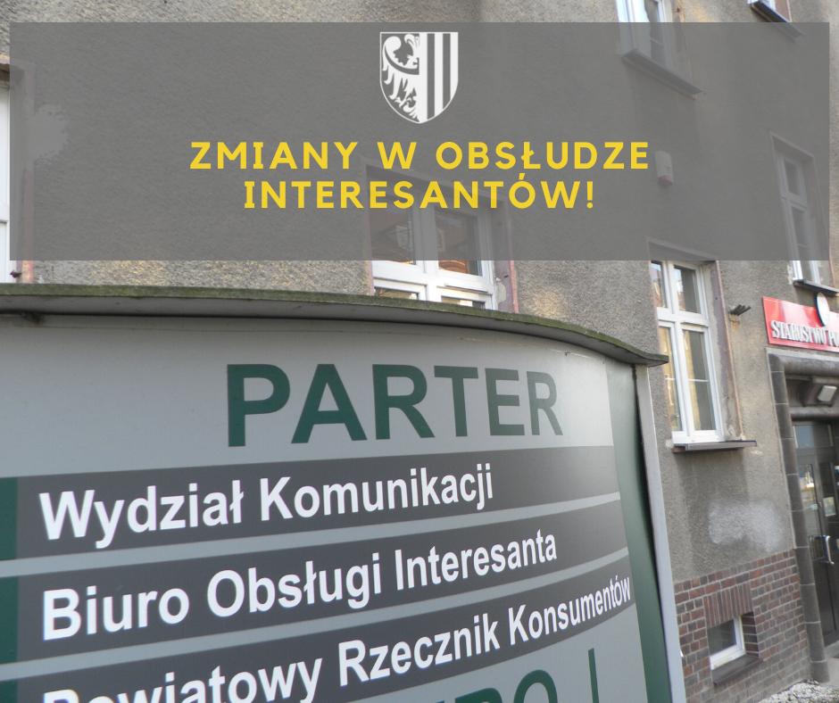 Starostwo Powiatowe w Zgorzelcu: Obsługa interesantów w Wydziale Komunikacji