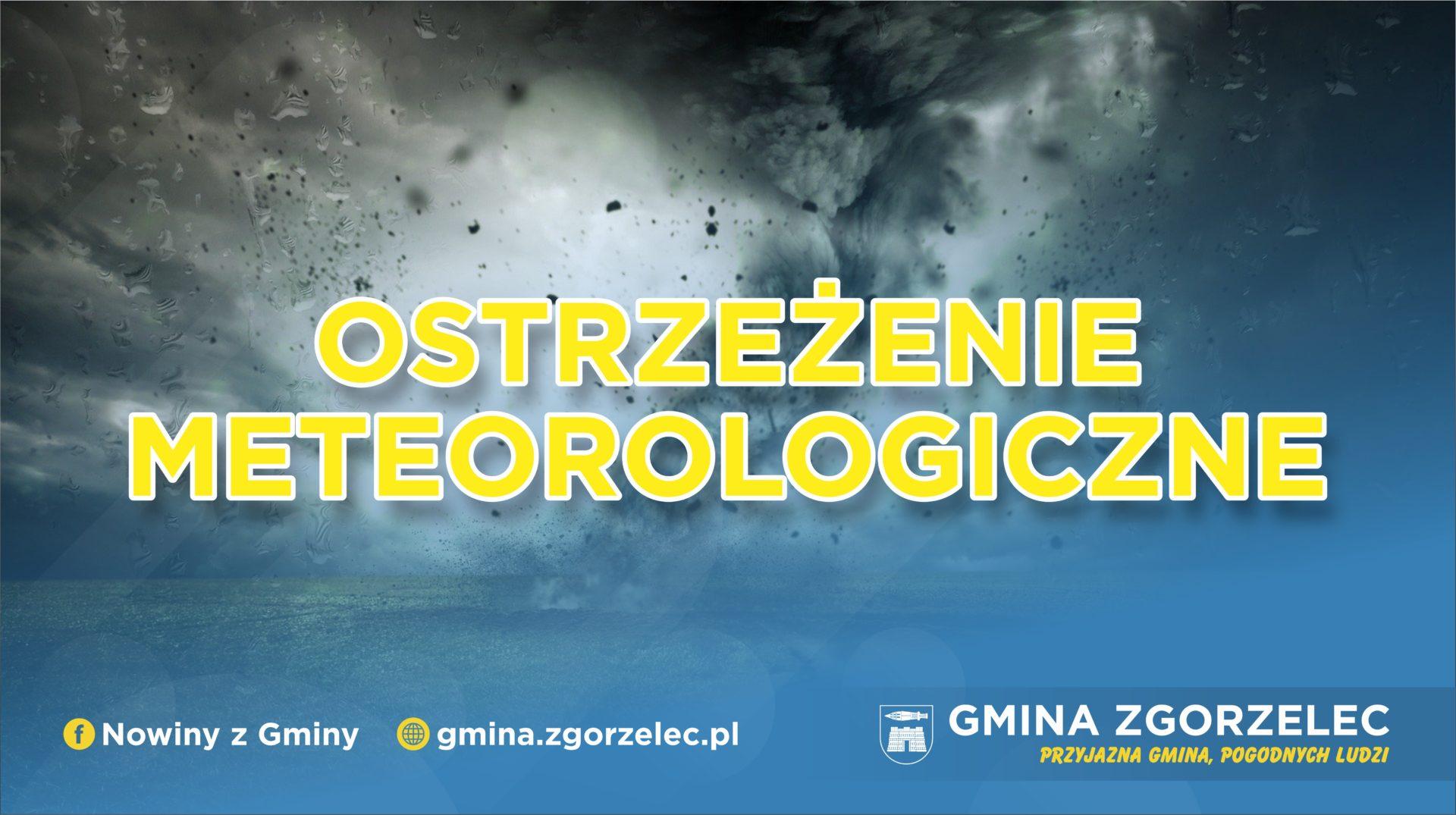 Ostrzeżenie meteorologiczne – marznące opady