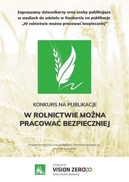 """KRUS: """"W rolnictwie można pracować bezpieczniej"""""""