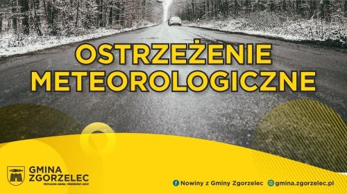 Ostrzeżenie meteorologiczne – Oblodzenie