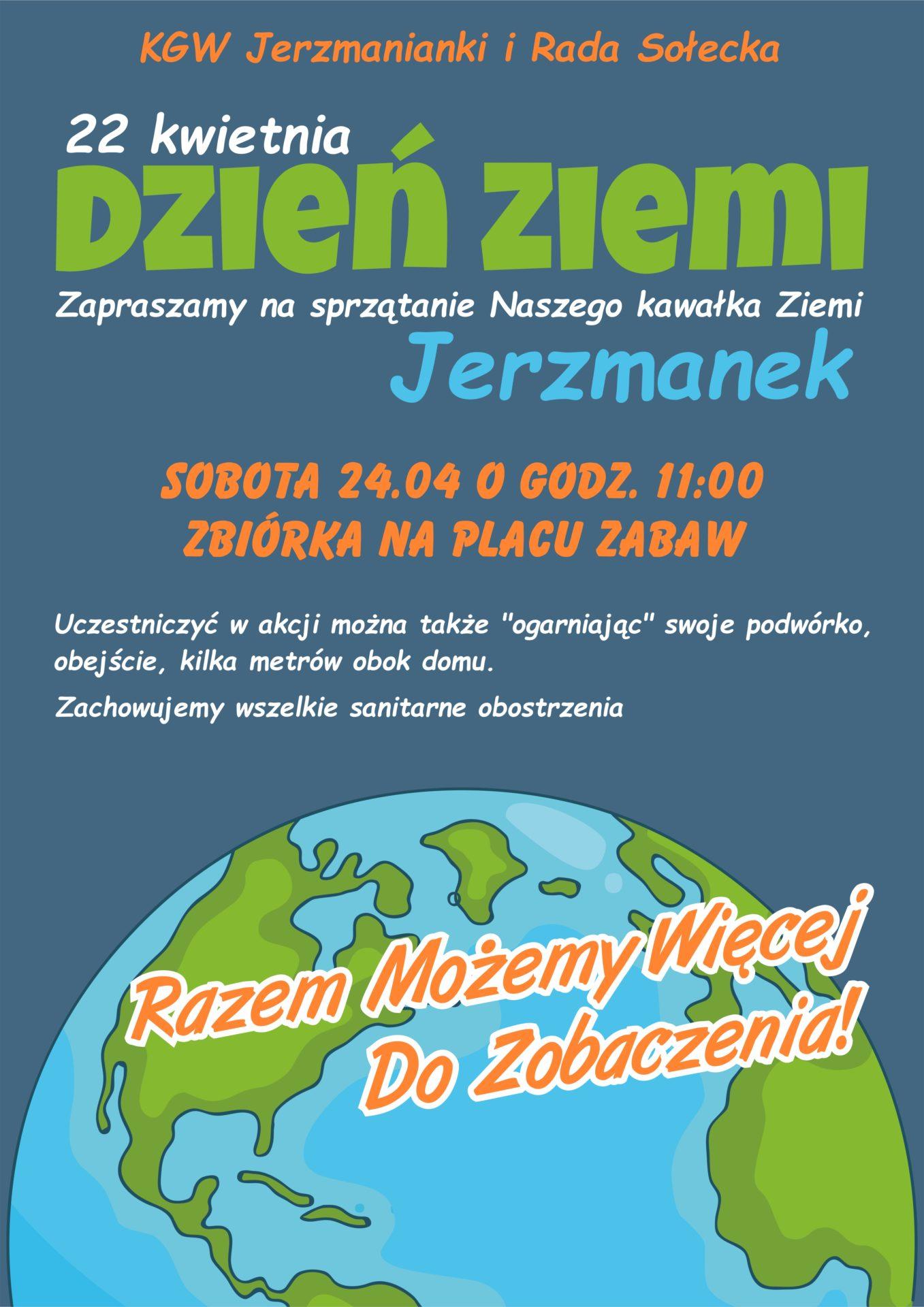 Sprzątanie Świata w Jerzmankach