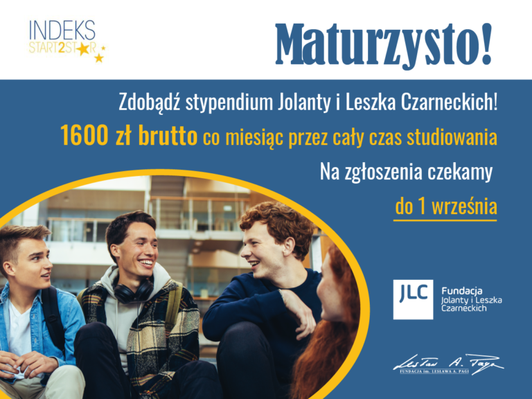 14. Edycji programu stypendialnego – Indeks Start2Star