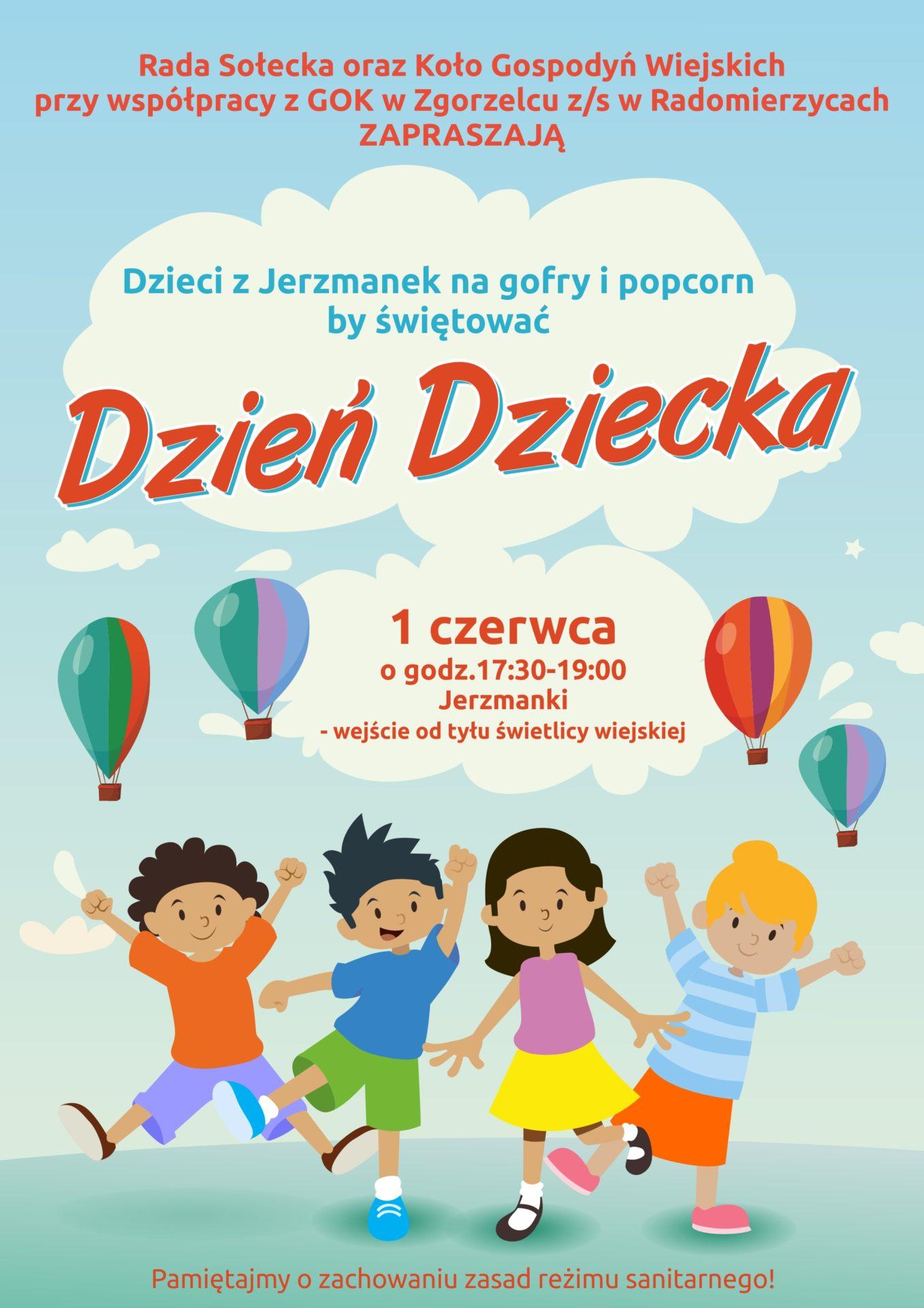 Dzień Dziecka w Jerzmankach