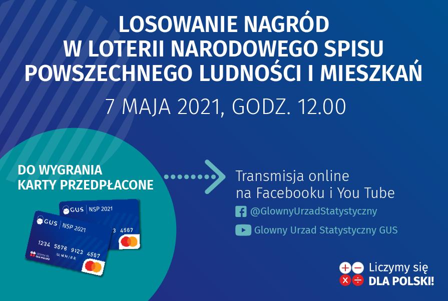Pierwsze losowanie nagród w Loterii NSP 2021