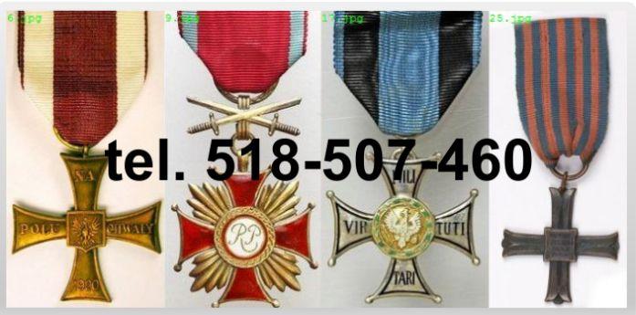 Kupię stare ordery, medale, odznaki, odznaczenia