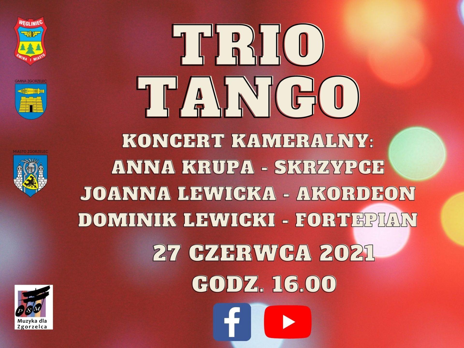 PSM: Koncert Trio Tango