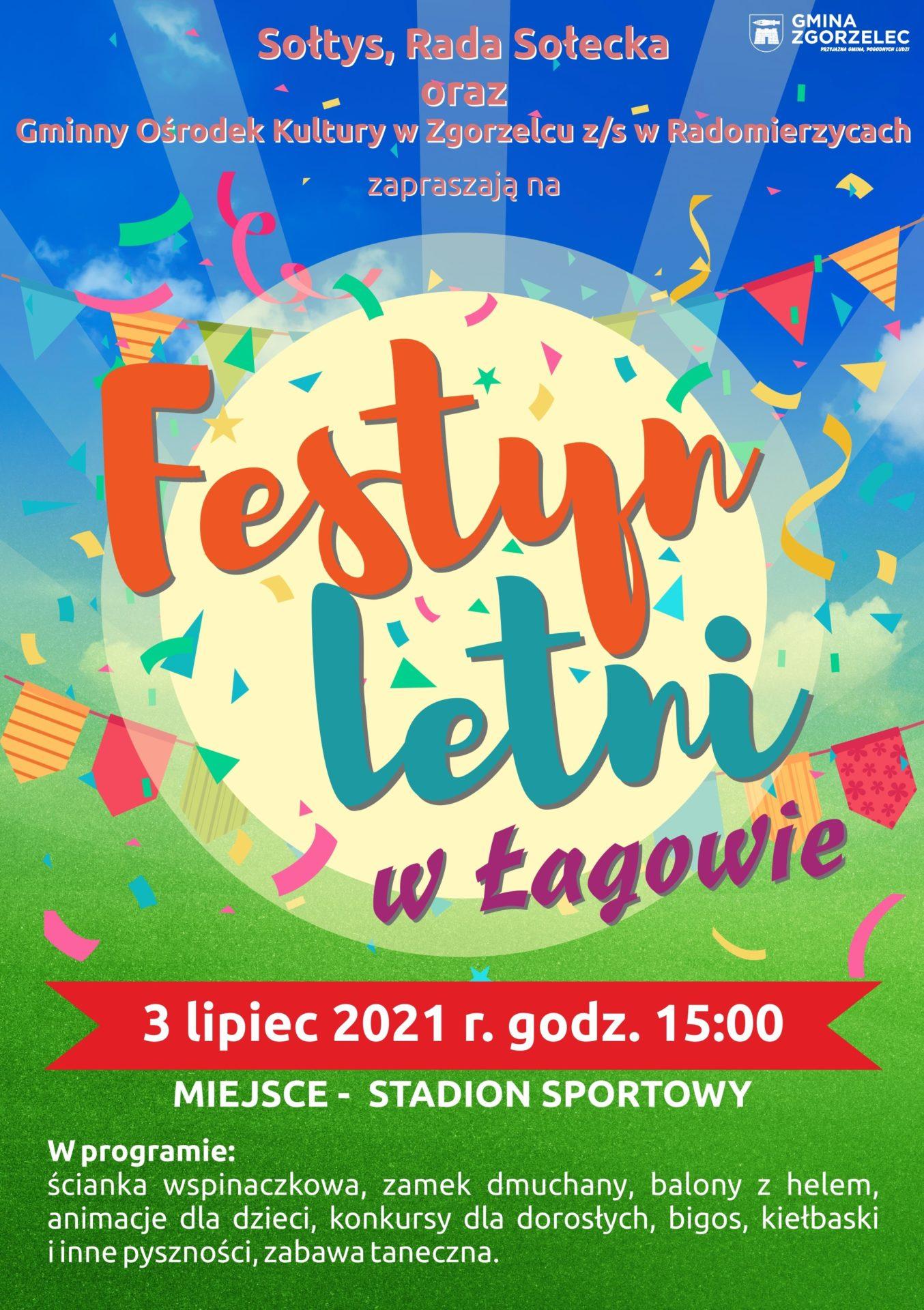 Festyn letni w Łagowie