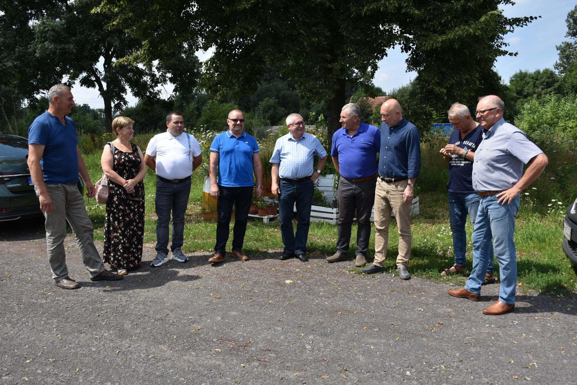 Przekazanie placu budowy pod remont drogi relacji Żarska Wieś – Pokrzywnik