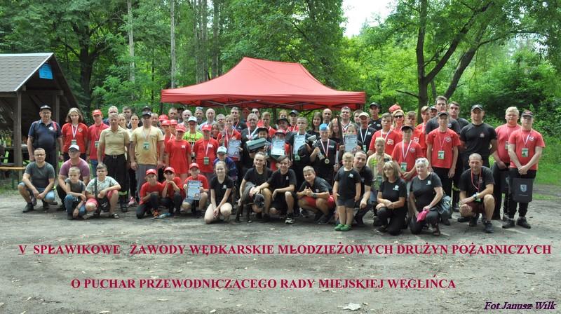 V spławikowe zawody wędkarskie drużyn Młodzieżowych Drużyn Pożarniczych