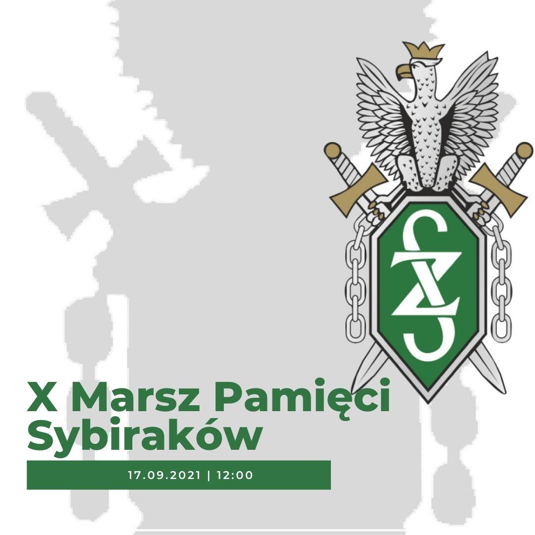 X Marsz Pamięci Sybiraków
